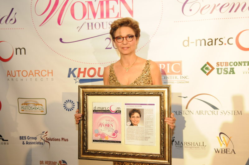AUTOARCH Principal Named one of Top 30 Influential Women of Houston 2015