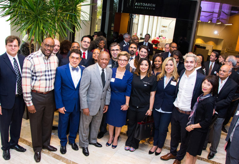 Celebrating AUTOARCH's 25th Anniversary with Mayor Sylvester Turner