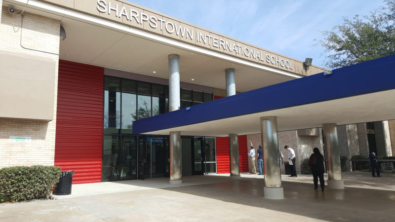 A Brand New Image for Sharpstown International School
