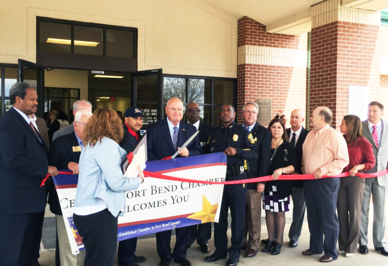 Fort Bend Seniors Ribbon Cutting